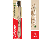 Escova Dental Colgate Bamboo - Cabo de Bambu Natural