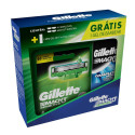 Kit Carga Gillette Mach3 Sensitive c/4+ Mini Gel Mach3 71g