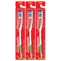 Kit c/ 3 Colgate Classic Clean Escova Dental Média Macia