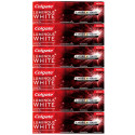 Kit 6x70g Creme Dental Colgate Luminous White Carvão Ativado