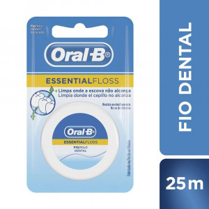 Fio Dental Oral-B Essential Floss 25m