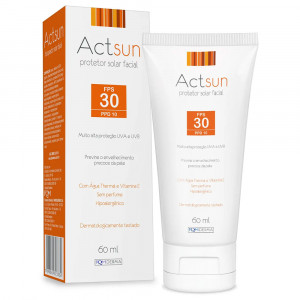 Protetor Solar Actsun Facial FPS30 60mL