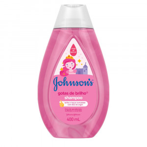 Shampoo Johnsons Baby Gotas de Brilho 400mL