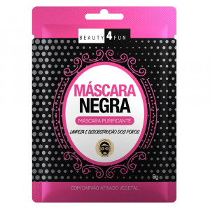 Máscara Facial Negra Beauty 4 Fun Purificante 8g