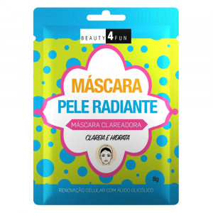 Máscara Facial Beauty 4 Fun Pele Radiante 8g