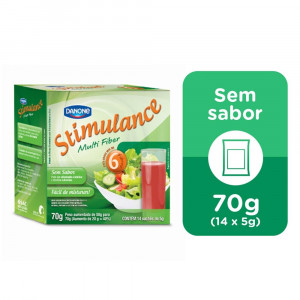 Stimulance Multi Fiber Regulador Intestinal Sem Sabor 70g