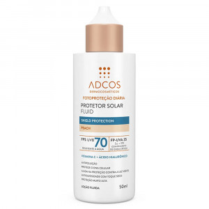 Protetor Solar Adcos Fluid Shield Protection Peac FPS70 50mL