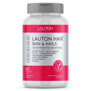 Lauton Hair, Skin e Nails Lauton Nutrition c/60 Cápsulas