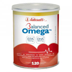 Balanced Omega 3 Fish Oil Naturalis 1000mg c/120 Cápsulas