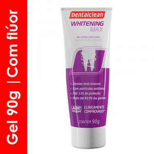 Gel Dental DentalClean Whitening Max 90g