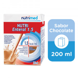 Nutri Enteral Chocolate Tetra Pak Caixinha 1,5KCAL/mL 200mL