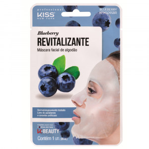 Kiss New York Máscara Facial Blueberry