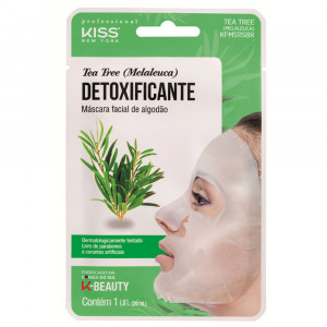 Kiss New York Máscara Facial Tea Tree Melaleuca