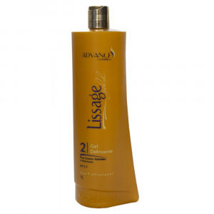 Advance Gold Hair Lissage Gel Defrizante Ph 2,5 Prof 1L