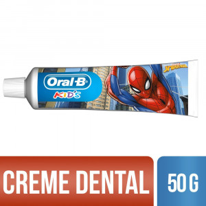 Creme Dental Infantil Oral-B Kids Spiderman 50g