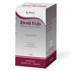 Zirvit Kids Suspensão Oral Pediátrico 150mL