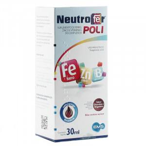 Neutrofer Poli Susp Oral Inf Chocolate e Brigadeiro 30mL