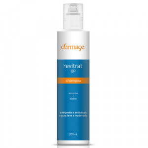 Revitrat OP Shampoo Antiqueda e Anticaspa Dermage 200mL